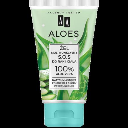 AA ALOES Żel multifunkcyjny do rąk i ciała Aloe Vera 150 ml
