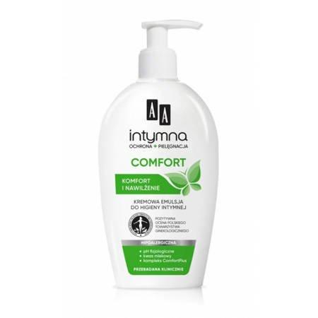 AA Intymna Ochrona Comfort emulsja do higieny intymnej