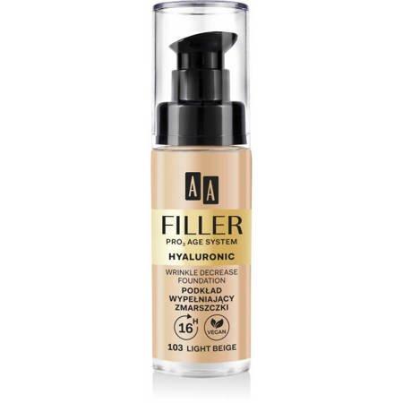 AA Make Up podkład wypełniający zmarszczki 103 light beige 30 ml