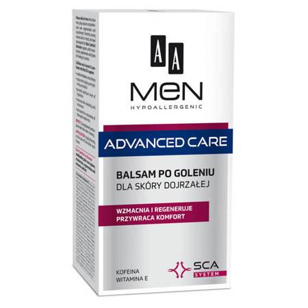 AA Men Advanced Care balsam po goleniu dla skóry dojrzałej 100ml