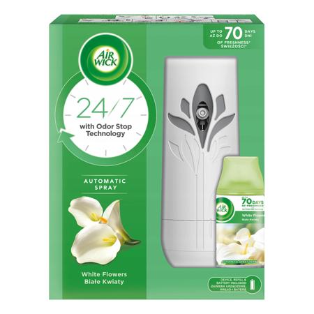 Air Wick Odświeżacz Powietrza i Wkład Białe Kwiaty 250ml