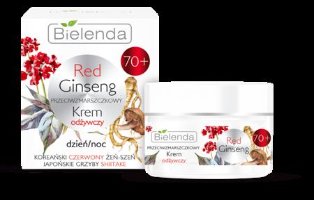 Bielenda RED GINSENG Odżywczy krem 70+ d/n 50ml
