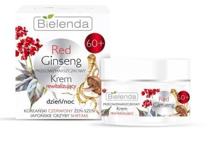 Bielenda RED GINSENG Rewitalizujący krem 60+ d/n 50ml