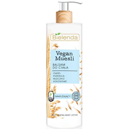 Bielenda Vegan Muesli Balsam do ciała nawilżający 400 ml
