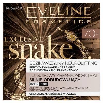 Eveline Exclusive Snake 70+ Krem silnie odbudowujący 50 ml