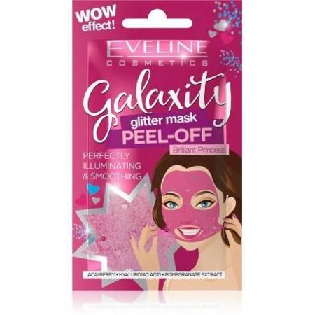 Eveline Galaxity Maseczka do twarzy rozświetlająca Brilliant Princess 10g