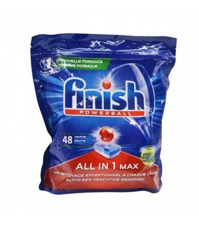 Finish All in One Max tabletki do zmywarki 48 szt.